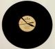 hodiny z vinylu bílé 2